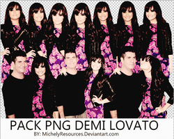 Pack png 153 Demi Lovato by MichelyResources