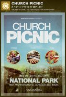 Church Picnic Flyer Template by loswl