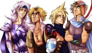 ff: dissidia - twofourseventen by spoonybards