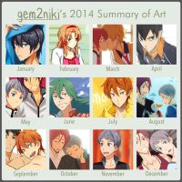 2014 Summary of Art by gem2niki