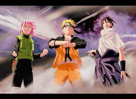 Team 7 together again by Enara123
