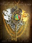 Mother of Dragons Key Auction by ArtByStarlaMoore