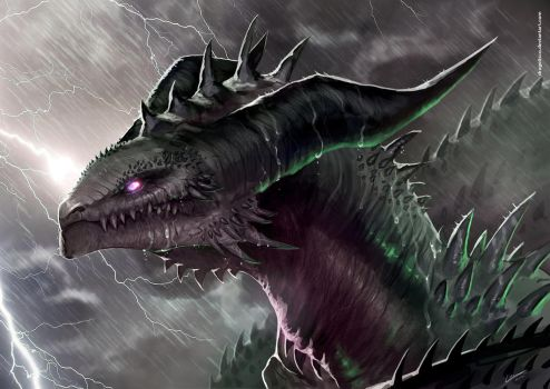 Under a heavy storm by Dragolisco