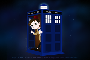 DW - I'm the Doctor. I was here to help. by zettapoke