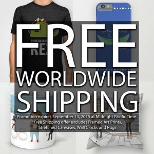Exclusive Promotion - Worldwide Shipping!