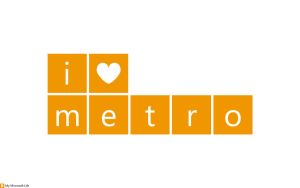 I heart metro Yellow by mymicrosoftlife