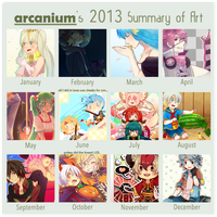 2013 Art Summary by arcanium
