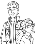 Rhys and Vaughn by AnArtistCalledRed