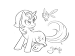 Luster Glow Sketch: Comm by Yamino by McGack