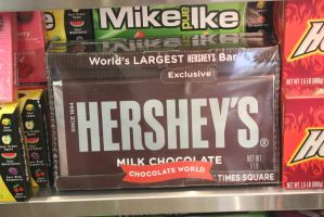 World's Largest Hershey's bar stock by BeccaB323