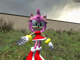 Amy Gmod 9 Pose by GlitchyProductions