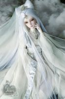 Miss white snake by Angell-studio