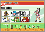 trainercard-Nina (1) by TrainerAgate