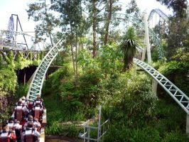 Colossus, Thorpe Park 1 by ggeudraco