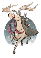 Dashing through the snow... by Oelm