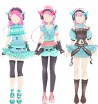CE: Outfits by StarDustFairytale