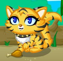 ShinyPaw the Tiger Cat by Espy4ever