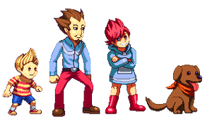 Mother 3 gang by akira-125