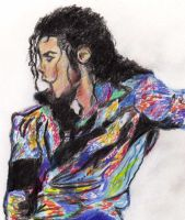 michael scribble by Gemini58