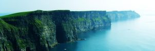 panorama of cliffs of moher by devilsarm