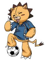 Kon Footballer by shadowcatxavier