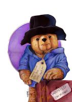Paddington Bear by westleyjsmith