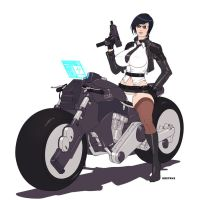 Agent Helix bike by Dmitrys