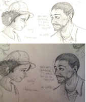 Lee and Clementine by UniGalvacron