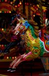 horses on the merry go around by stucker1987