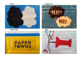 The Fault in Our Stars and Paper Towns: duct tape by jryu0620