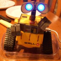 my blue-eyed Wall-e by The7thLoonatic