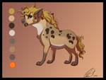 Hyena OC Design contest by SilvertoneAnimals
