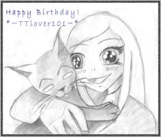 ..::Happy Bday TTlover101::.. by ravendarksparx