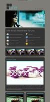 one email newsletter by revaxarts