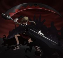 Insane Maka Albarn by Chinnaru