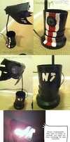 Legion Lamp by Nuclearpsychotic