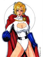 Power Girl 2008 by ericborc