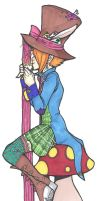 Lady Hatter collab by singingcatartist12