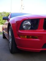 Red Mustang by PvtPuma