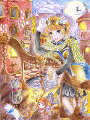 WT : HED- The Witch's Cat by 2947