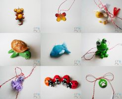 Animals charms by ALINAFMdotRO