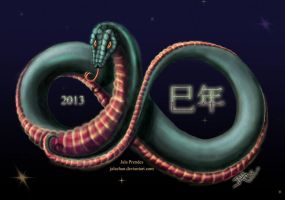 2013: Year of the Snake by jalachan