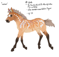 2346 Padro Foal Designed by Artoffreedom by HaloSon