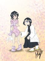 Request Rukia Babified by xll34