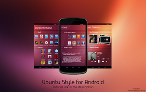 Ubuntu Phone Style for Android by spiritdsgn