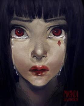 Blood by Mikandii