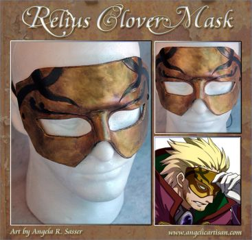Relius Clover Mask by Angelic-Artisan