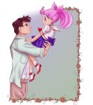 Chibiusa and Mamoru by x--lalla--x
