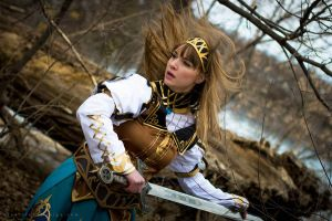 Valkyrie Profile II: Alicia's fight by breathelifeindeeply