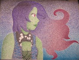 Check It Out I Made a Pointillism by k-Liight